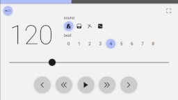 Web Audio Metronome